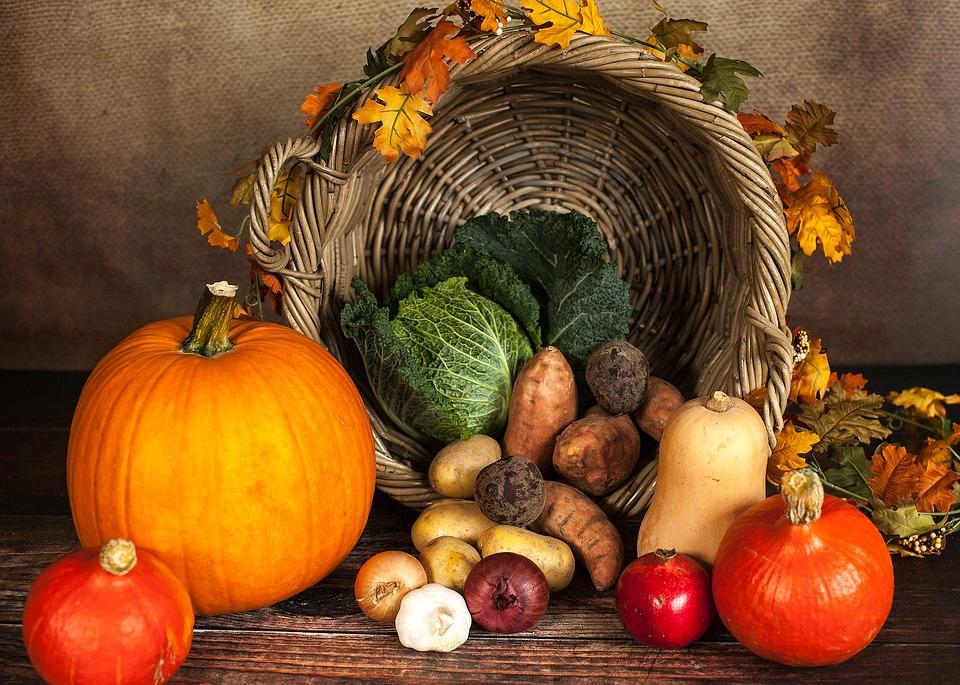 Autunno frutta e verdura di stagione