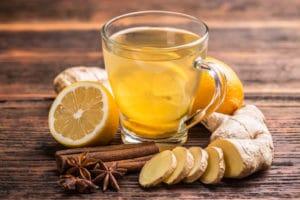 infuso zenzero e limone influenza